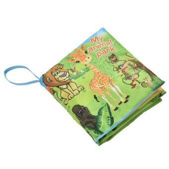 หนังสือตำราการศึกษาอนุบาลผ้าผ้าของเล่นเด็กฝึกการ์ตูนสวนสัตว์