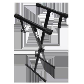 Rising ขาตั้งคีย์บอร์ดทรง X แกนเดี่ยว รุ่น XX-1(มีสายและน๊อตยึดคีย์บอร์ดเพิ่มความแข็งแรง) (image 0)