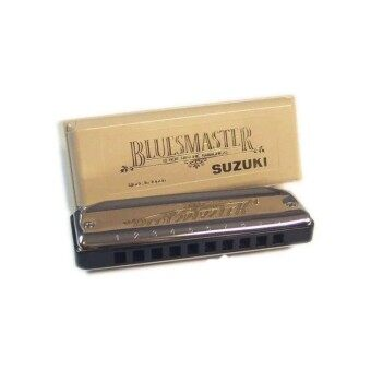 Suzuki BlueMaster HarmonicaKey C