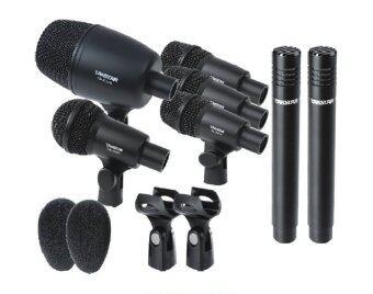 Takstar Drum Microphone Set ไมค์กลองชุด 7 ชิ้น ไมค์จ่อกลอง พร้อมกล่อง รุ่น DMS-7AS