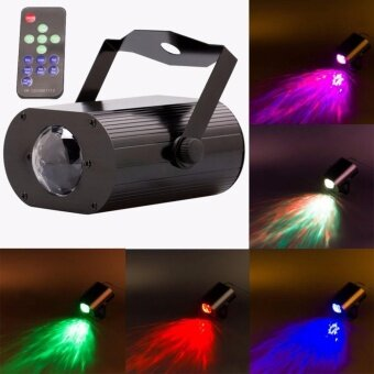 Harga U'King Water Wave Stage Light 9W LED RGB Ripple Stage Effect Light+ Remote Control - intl