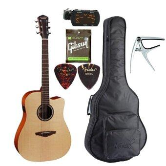 Veelah Acoustic Guitar รุ่น V1DCE SET