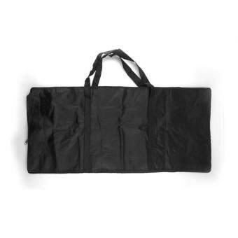 WiseBuy 61คีย์เปียโนไฟฟ้ากระเป๋าหิ้วแป้นพิมพ์ผ้าออกซ์ฟอร์ดเคสสีดำใหม่ - 2