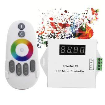 WS2811/WS2812B/WS2813/USC1903 Digital Music Controller with RF Touch Remote Control - intl