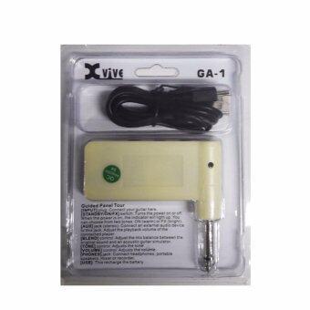 XVIVE Amplug GA-1 Acoustic แอมป์ปลั๊ก + สายชาร์จไฟ เสียบออกหูฟังMixer หรือ ลำโพง - 3