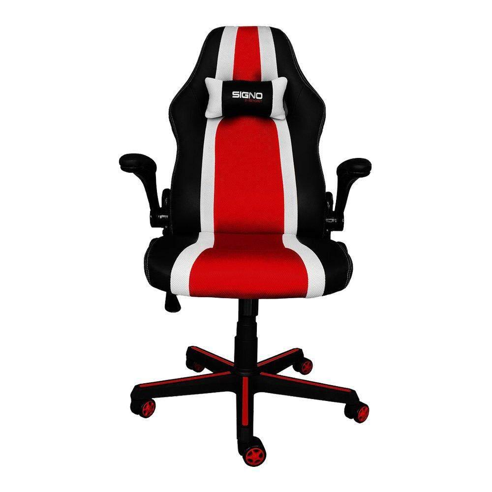สอนใช้งาน  GAMING CHAIR (เก้าอี้เกมมิ่ง) SIGNO BALIOS (BLACK/WHITE) [GC-201BW]
