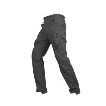 108trends กางเกงขาวยาว สำหรับผู้ชาย กางเกงเดินป่า แนว tactical กางเกงผ้ากันน้ำ รุ่น X10 (สีดำ)