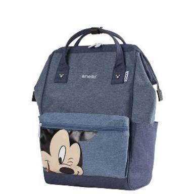 ยี่ห้อนี้ดีไหม  พังงา กระเป๋า Anello Đisnēy Mini 2019  Polyester Canvas Backpack แท้ 100 เปอร์เซ็นต์