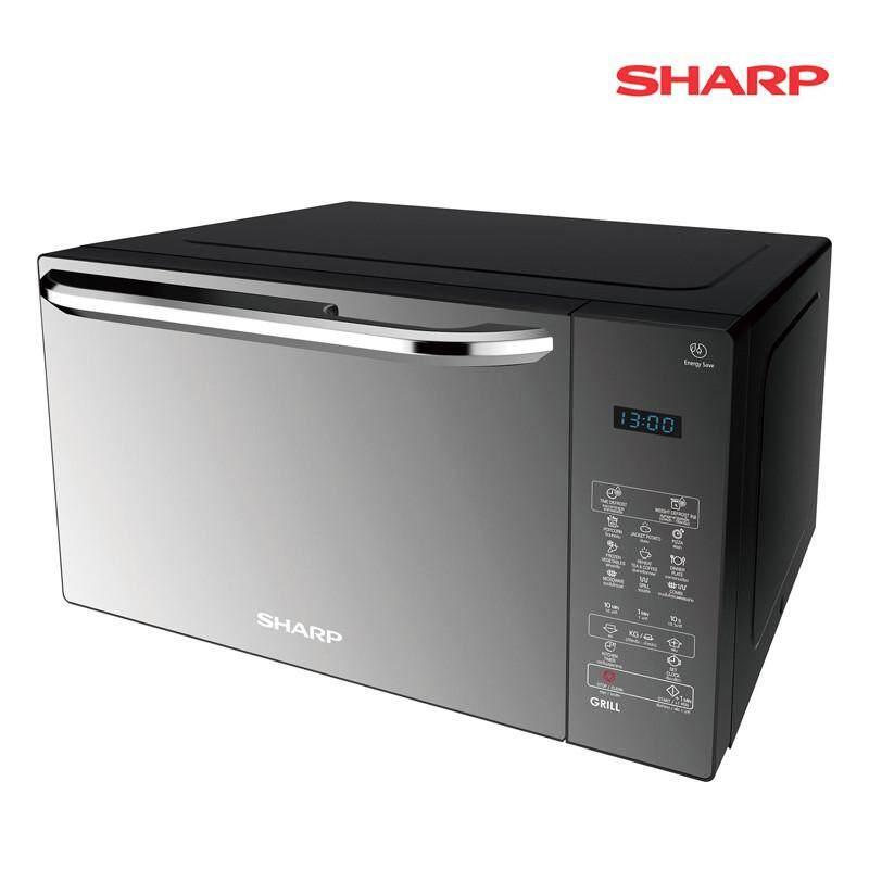 SHARP เตาไมโครเวฟ ระบบย่างได้ ความจุ 25 ลิตร รุ่น R-752PMR