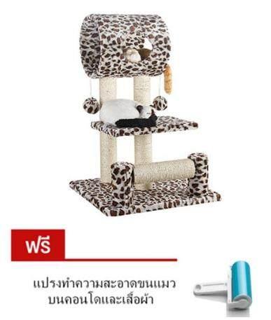 สุดยอดสินค้า!! คอนโดแมวลายเสือสวยคุณภาพดี ราคาถูก ส่งKERRYเก็บเงินปลายทางได้