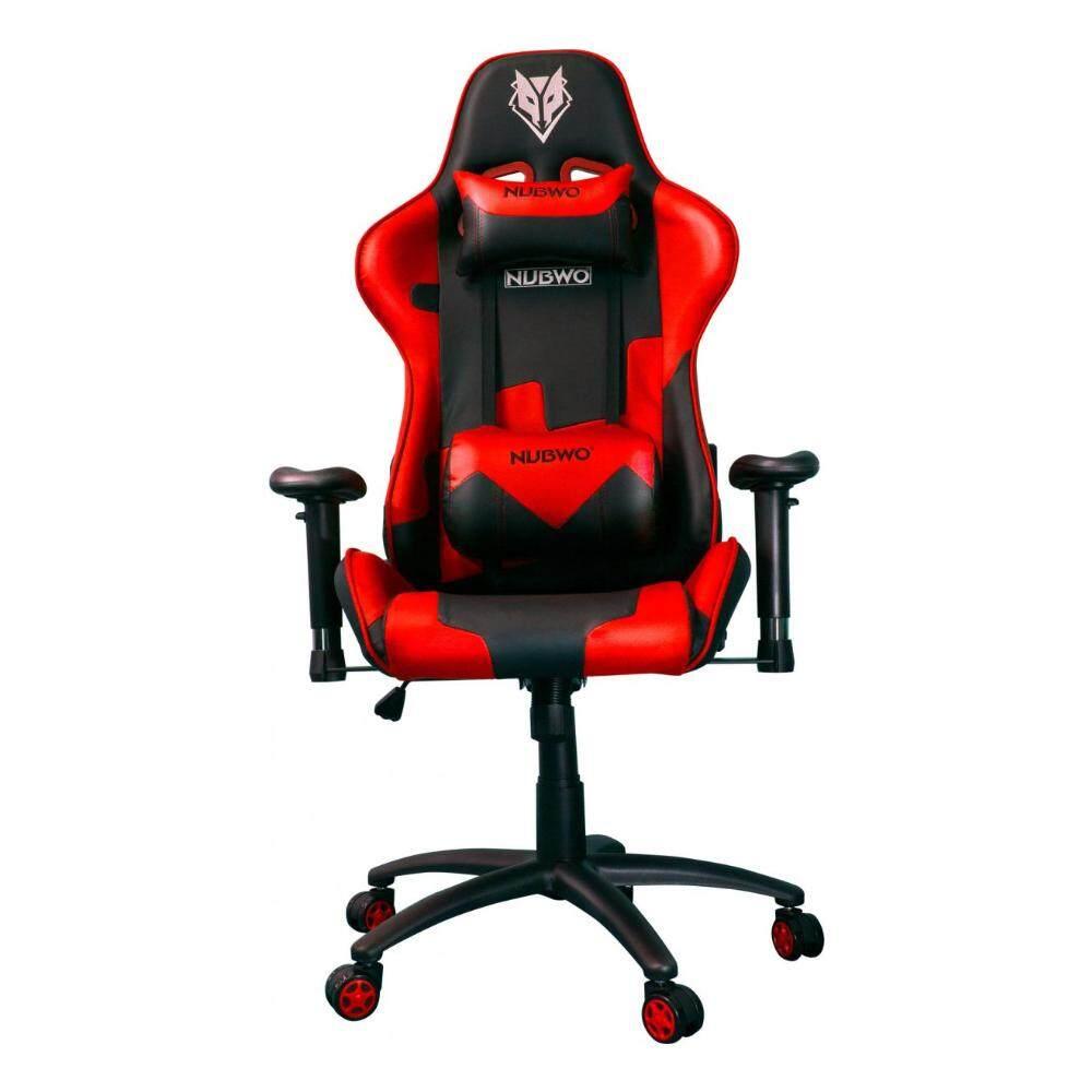 สอนใช้งาน  GAMING CHAIR (เก้าอี้เกมมิ่ง) NUBWO EMPEROR SERIES NUB-CH011 (RED)