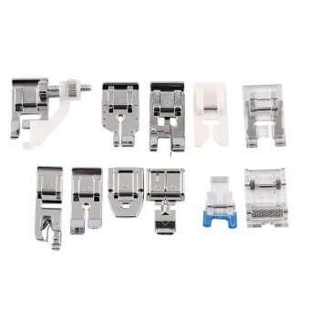 1 Set 11pcs Low Shank Sewing Machine Foot - intl