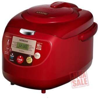 เปรียบเทียบราคา หม้อหุงข้าว1.8ลิตร สีแดง รุ่น HITACHI RZ-DMD18.DRE (Red)