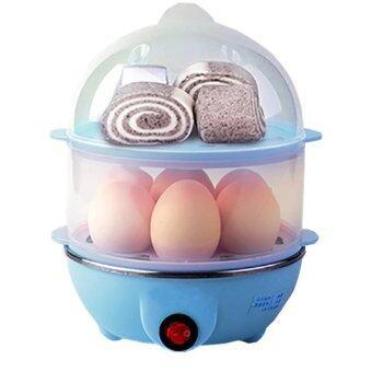 ซื้อ/ขาย เครื่องต้มไข่ หม้อนึ่งอเนกประสงค์ 2 ชั้น (Blue)