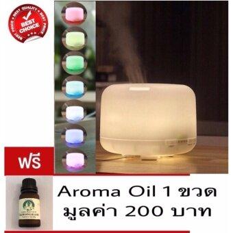 เครื่องพ่น ไอน้ำ ไฟ 7สี aroma diffuser spa ทรงญี่ปุ่น Japan aroma 120ml LED USB Essential Oil Aroma therapy Spa aroma oil อโรม่า น้ำมันหอมระเหย