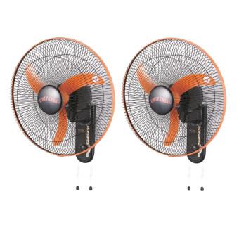 Aiko พัดลมติดผนัง 18 นิ้ว รุ่น WH-W450 (สีส้ม) แพคคู่
