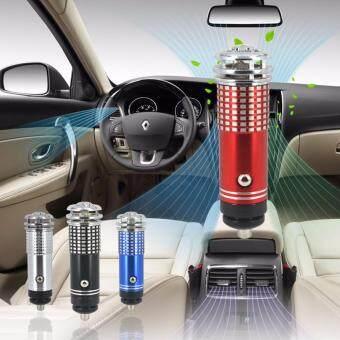 AIR PURIFIER & IONIZER เครื่องฟอกอากาศขนาดเล็ก ในรถยนต์ Mini Auto Car Fresh Air