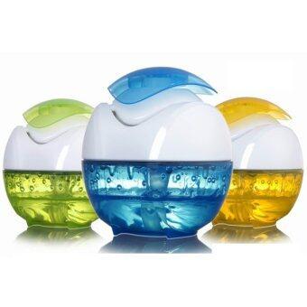 ขายด่วน Aromatherapy essential oils ultrasonic humidifier vaporizer machine nightlights (Green)