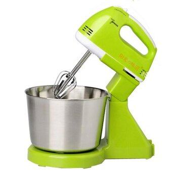 BEST Tmall Electric Mixer เครื่องผสมอาหารสแตนเลสคุณภาพสูงเครื่องผสมอาหารแบบมือถือ (Green)