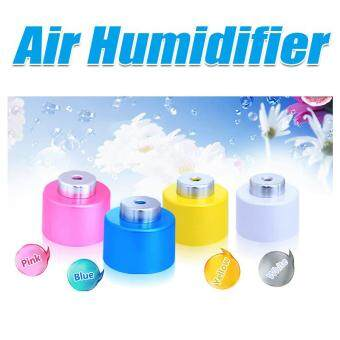 BUYINSOINS New Portable USB Air Dehumidifiers Humidifiers MiniWater Bottle Caps Diffuser Aroma Mist Maker Pink
