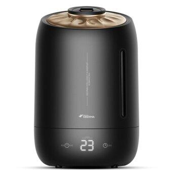 Deerma Ultrasonic Air Humidifier 5L Large Capacity Mist Aroma diffuser-Black - intl