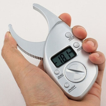Harga Digital Body Fat Caliper Skin Fold Analyzer Measuring Tape with LCDDisplay Home Appliances Fan Accessories - intl