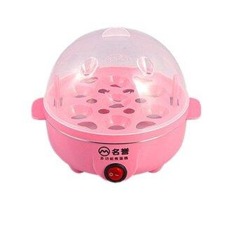 Electric Egg Boiler Cooker (Cooks up to 7 eggs hard or soft boiled)- Pink