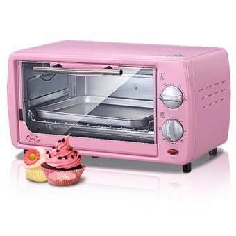 Electric Oven Fashion เตาอบไฟฟ้าแฟชั่น 650W ขนาด 12L - Pink Lady