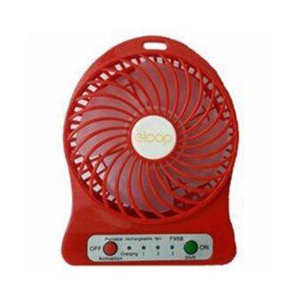 ซื้อ/ขาย eloop Mini fan พัดลมพกพาขนาดเล็ก ชาร์จสายUSB ใส่ถ่าน ลมแรง