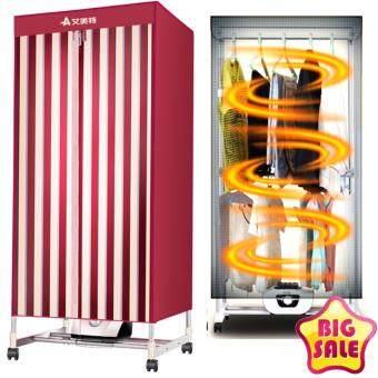 เครื่องอบผ้าแห้งฆ่าเชื้อ และลดกลิ่นอับ Fashion Shirts or dresses Drier 15kg/1000W - Red Style