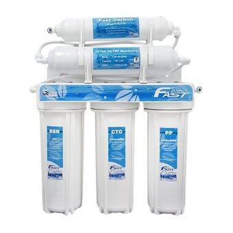 Fast Pure เครื่องกรองน้ำ 5 ขั้นตอน UF 0.01 ไมครอน