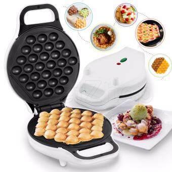 Getservice เครื่องทำวาฟเฟิล Bubble waffle makerเครื่องทำวาฟเฟิลฮ่องกง Roche's Choice (สีขาว)
