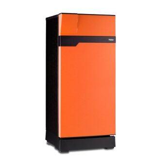 Haier ตู้เย็น 1 ประตู Muse series ขนาด 5.2 คิว รุ่น HR-CEA15-OS(สีส้ม/ดำ)