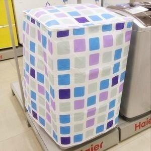 Haier กลองอัตโนมัติกันน้ำผ้าคลุมรถเครื่องซักผ้าฝาครอบ