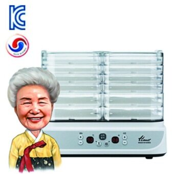 Hanil Electric Food Dehydrator DFD-6100HL 6 trays [White color] /Yogurt Mode/Moist Mode