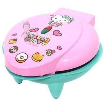 เปรียบเทียบราคา เครื่องทำขนมมินิโดนัท Hello Kitty รุ่น SW-072 (Pink)