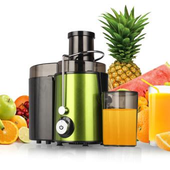 HHsociety เครื่องคั้นน้ำผักและผลไม้แบบแยกกาก Fruit squeezerextractor รุ่น HHS-S500 (สีเขียว)