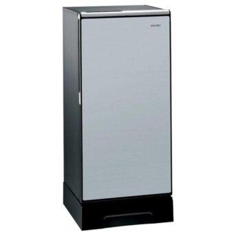 Hitachi ตู้เย็น 1 ประตู พร้อมชั้นวางกระจกแก้วนิรภัย รุ่น R-64V4 ขนาด 6.6คิว (สีซิลเวอร์)