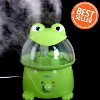 รีวิวพันทิป Hot item Green Frog Huminifier 3.5L เครื่องพ่นควันเพิ่มความชื้น รุ่น กบเขียว