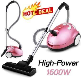 Hot item High Power Vacuum Cleaner เครื่องดูดฝุ่นแฟชั่นพลังงานสูง 1600W - Pink Series