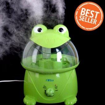 Humidifier เครื่องพ่นควัน ทำละอองน้ำ เพิ่มความชื้นในอากาศ รุ่น Green Frog 3.5L