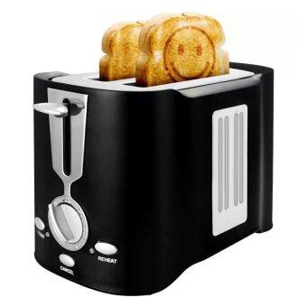 SUMMER เครื่องปิ้งขนมปังอมยิ้ม รุ่น SU4222 (สีดำ)