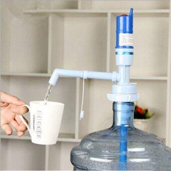 รีวิวสินค้า เครื่องปั้มน้ำดื่มอัตโนมัติ ที่ปั้มน้ำดื่มมือถือ Drinking Water Pump Dispenser -Blue แนะนำ