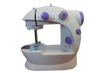ขายถูก จักรเย็บผ้า ไฟฟ้า ขนาดพกพา จักรเย็บผ้าเล็ก [พร้อมไฟเย็บกลางคืน] Sewing Machine เช็คราคา