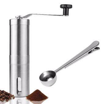Good Day เครื่องบดกาแฟมือหมุนพร้อมช้อนตักเมล็ดกาแฟ