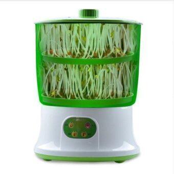 DJSHOP เครื่องปลูกถั่วงอก เครื่องปลูกต้นอ่อนทานตะวัน Bean Sprouts Machine เครื่องเพาะธัญพืช CT-S01 (สีเขียว)