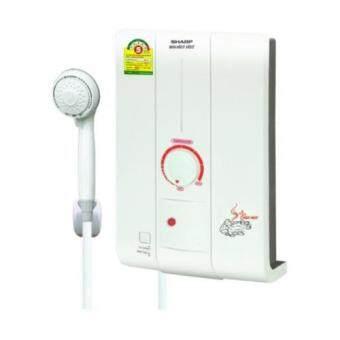 SHARP เครื่องทำน้ำอุ่น รุ่น WH-HOT HOT (White)