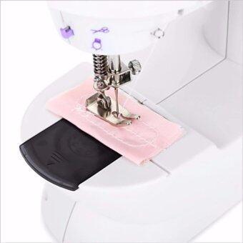 จักรเย็บผ้า ไฟฟ้า มินิ ขนาดเล็ก ขนาดพกพา Mini Sewing Machine
