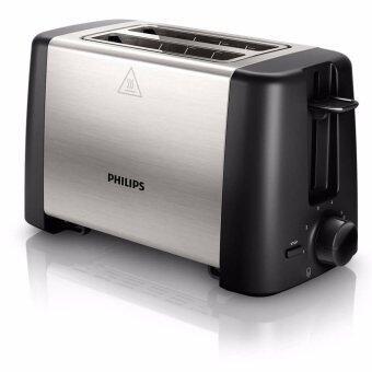 Philips เครื่องปิ้งขนมปัง Daily Collection HD4825 (สีเงิน/ดำ)