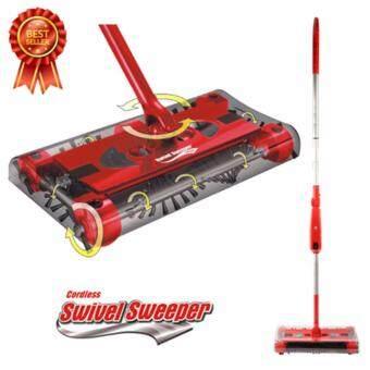 ไม้กวาดไฟฟ้าใร้สาย Swivel Sweeper